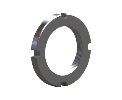 KM(L) lock nut with lock washer